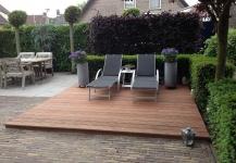 Tuin Houten Palen : Tuinbank maken eigen huis en tuin thermaflexlatam